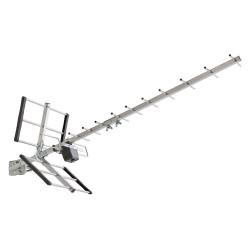 Antenne TV extérieure tnt-hd 12 dB de marque Centrale Brico, référence: B6402900