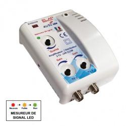 Amplificateur intérieur terrestre 2 sorties 29DB ELAP de marque Centrale Brico, référence: B6403100