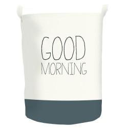 Panier à linge textile Pop up morning, paris n°1, l.40 x H.50 x P.40 cm de marque Centrale Brico, référence: B6406800