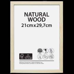 Cadre Brut, l.21 x H.29.7 cm, bois naturel de marque Centrale Brico, référence: B6410300