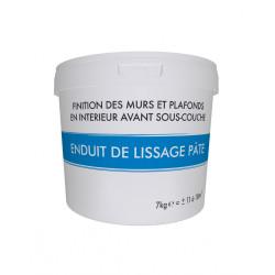 Enduit de lissage 7 kg en pâte, pour mur intérieur de marque Centrale Brico, référence: B6411400