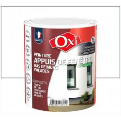 Peinture appui de fenêtre Mate velouté OXI, blanc, 1l de marque Centrale Brico, référence: B6413900