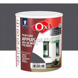 Peinture appui de fenêtre Mate velouté OXI, gris anthracite, 1l de marque Centrale Brico, référence: B6414000
