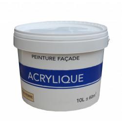 Peinture façade Acrylique, pierre, 10 l de marque Centrale Brico, référence: B6414500