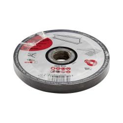Lot de 10 disques de coupe pour métal, Diam.125 x 1 x 22.23 mm de marque Centrale Brico, référence: B6420000