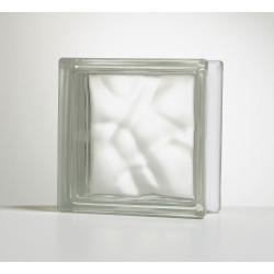 Brique de verre, transparent ondulé brillant de marque Centrale Brico, référence: B6425000