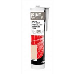 Joint pâte carrelage CERMIX beige 310 ml Joint facile beige 1m² de marque Centrale Brico, référence: B6434000
