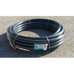 Tube d'alimentation polyéthylène, Diam.24.8 x 32 mm, en couronne de 25 m de marque Centrale Brico, référence: B6450400