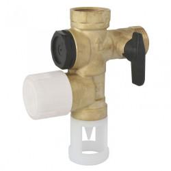 Groupe de sécurité laiton pour chauffe-eau de marque Centrale Brico, référence: B6452300