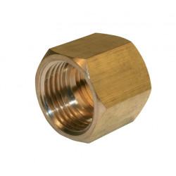Manchon à visser laiton F 26 x 34 pour tube en cuivre de marque Centrale Brico, référence: B6454400