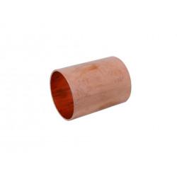 Manchon à souder cuivre D.28 pour tube en cuivre de marque Centrale Brico, référence: B6456400