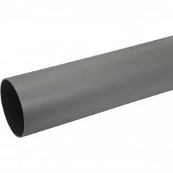 Tube d'évacuation PVC, Diam.100 mm, L.1 m de marque Centrale Brico, référence: B6478700
