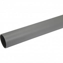 Tube d'évacuation PVC, Diam.50 mm, L.1 m de marque Centrale Brico, référence: B6480000
