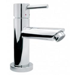 Mitigeur de lavabo chrome brillant, EDOUARD ROUSSEAU Mini fribourg de marque Centrale Brico, référence: B6498000