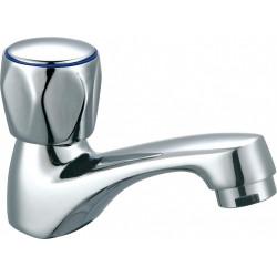 Robinet de lave-mains chromé brillant, EDOUARD ROUSSEAU Standard bas de marque Centrale Brico, référence: B6499300