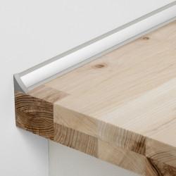 Joint d'étanchéité concave décor aluminium L.315 x l.2.2 cm de marque Centrale Brico, référence: B6512300
