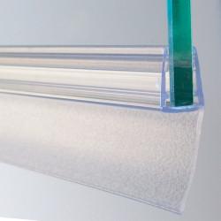 Joint d'étanchéité longue lèvre H.3.6 cm translucide Joint de douche de marque Centrale Brico, référence: B6518300