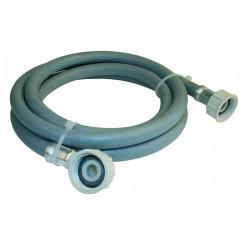 Flexible d'alimentation coudé à visser F 20 x 27 de marque Centrale Brico, référence: B6518700