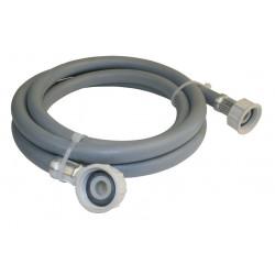Flexible d'alimentation coudé à visser plastique F 20 x 27 pour tuyau souple de marque Centrale Brico, référence: B6518800