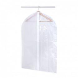 Housse à vêtements courte plastique blanc, H.90 x l.60 x P.60 cm de marque Centrale Brico, référence: B6532400