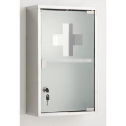 Armoire à pharmacie l.30 cm, imitation métal, Genoa de marque Centrale Brico, référence: B6532700