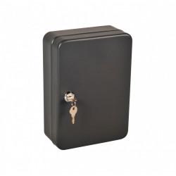 Armoire à clés 44 crochets à clés, l.18 x H.25 x P.8 cm de marque Centrale Brico, référence: B6534100