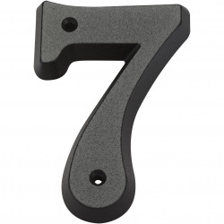 Chiffre 7 en zamak mat H.8 x l.4.5 cm de marque Centrale Brico, référence: B6542500