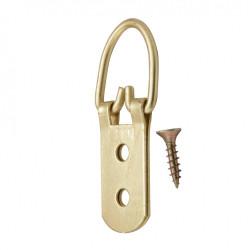 Lot de 2 anneaux pour cadres lourds LE CROCHET FRANCAIS de marque Centrale Brico, référence: B6550800