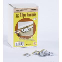Lot de 250 clips + clous pour lambris bois de marque Centrale Brico, référence: B6553200