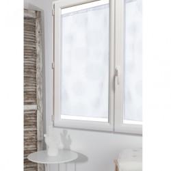 Paire de vitrages transparent blanc l.60 x H.120 cm de marque Centrale Brico, référence: B6575800