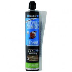 Cartouche de scellement chimique 280 ml avec accessoires SCELL IT de marque SCELL-IT, référence: B6665100