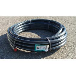 Tube d'alimentation polyéthylène, Diam.24.8 x 32 mm, en couronne de 10 m de marque Centrale Brico, référence: B6681800