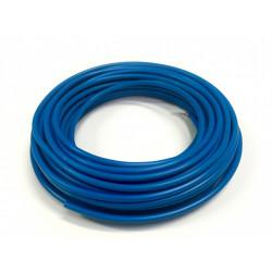 Fil électrique 1.5 mm² h07vu, en couronne de 10M bleu de marque Centrale Brico, référence: B6687600