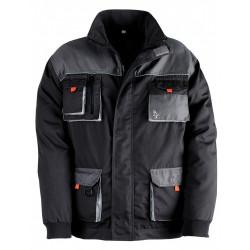 Veste de travail Smart, gris / noir taille XXL de marque KAPRIOL, référence: B6690600