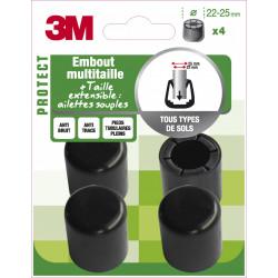 Lot de 4 embouts en plastique 3M de marque 3M, référence: B6304300
