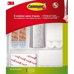 Lot de 48 languettes adhésives Multi-usages COMMAND, blanc de marque COMMAND, référence: B6312000