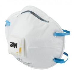 Lot de 10 masques anti-poussières FFP2 3M de marque 3M, référence: B6713800