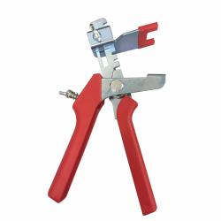 Pince pour croisillons niveleurs en acier avec manche rouge de marque Centrale Brico, référence: B6717300