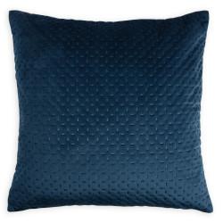 Coussin Cheryl, bleu l.40 x H.40 cm de marque Centrale Brico, référence: B6721700