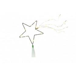 Cimier étoile filante micro LED de marque Centrale Brico, référence: B6746300
