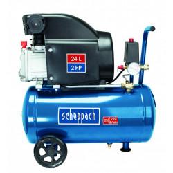 Compresseur d'atelier SCHEPPACH 24 l 2 cv HC26 230 V de marque Centrale Brico, référence: B6747800