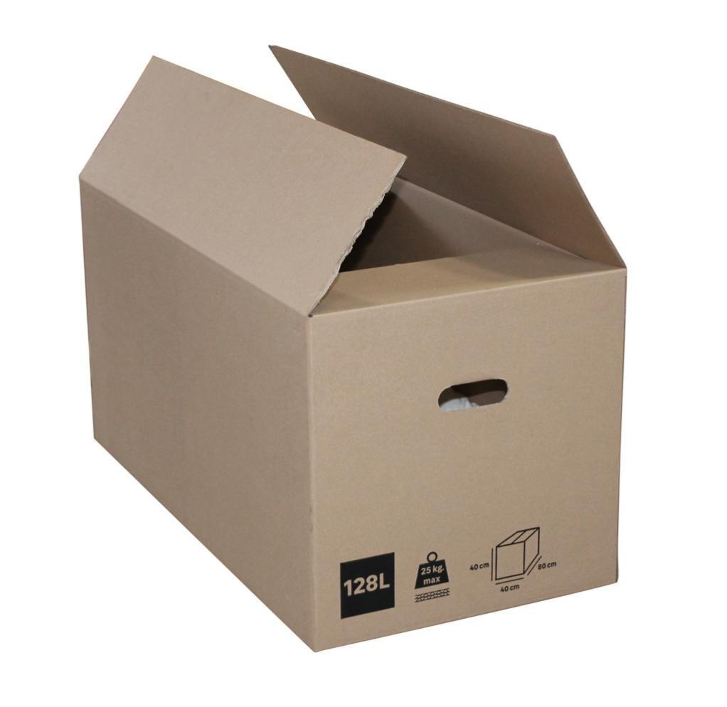Carton 128 l, l.80 cm x H.40 cm x p.40 cm