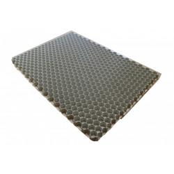 Plaque stabilisatrice pour gravier avec géotextile,ALVEPLAC blanc cassé de marque Centrale Brico, référence: J6630000