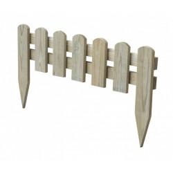 Bordure à planter Stackette bois naturel, H.30 x L.60 cm de marque Centrale Brico, référence: J6673200