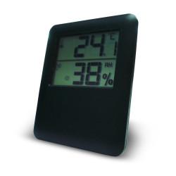 Thermomètre / hygromètre intérieur OTIO noir de marque OTIO, référence: J6682100