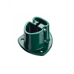 Platine aluminium a visser Axor vert, H.7.5 cm x section 110x110 mm de marque Centrale Brico, référence: J6708500