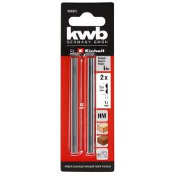 Lames pour rabot 82 mm de marque KWB, référence: B6329300