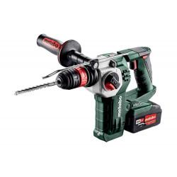 Marteau perforateur burineur 18 V KHA 18 LTX BL 24 Quick - 2 x 4,0 Ah Li-Power, ASC 55 de marque Metabo, référence: B6787100