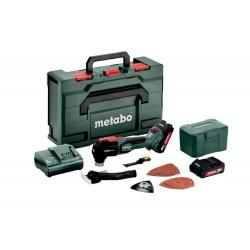 Outil multifonctions 18 V MT 18 LTX BL QSL - 2 x 2,0 Ah Li-Power, ASC 55, coffret Metabox de marque Metabo, référence: B6791500