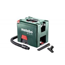 Aspirateur 18 V AS 18 L PC - 2 x 5,2 Ah Li-Ion, ASC 55 de marque Metabo, référence: B6792200